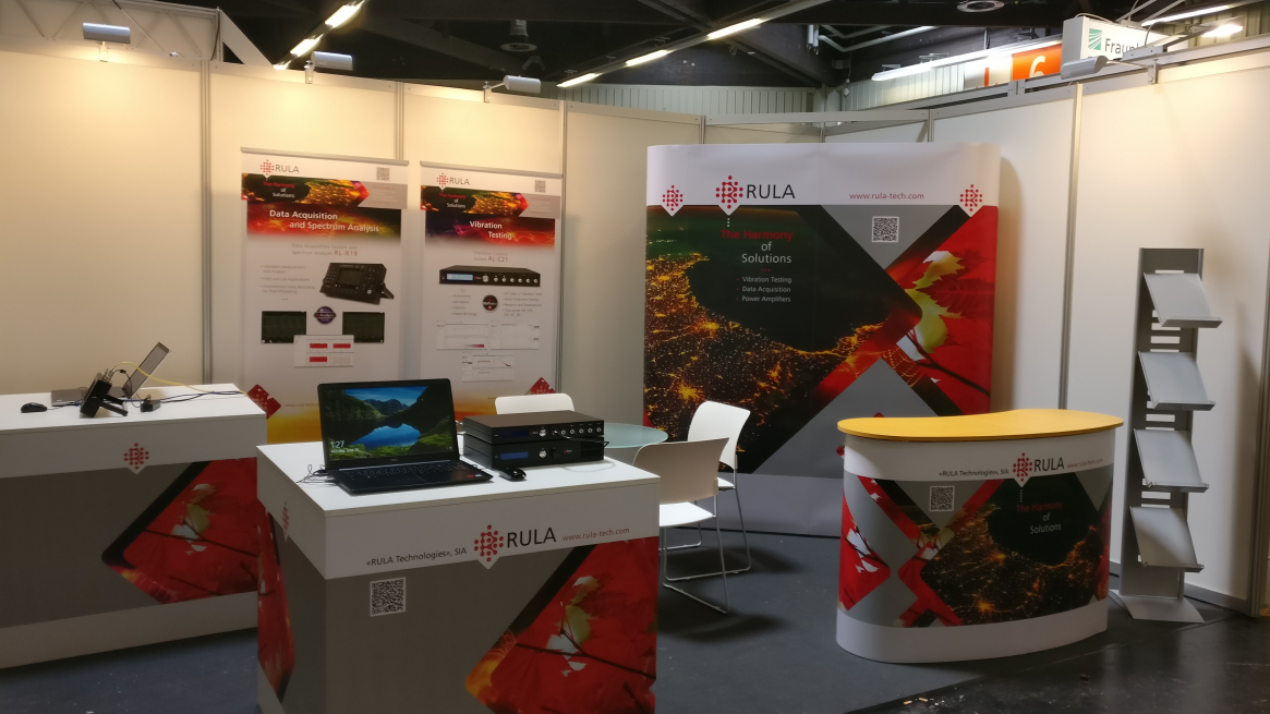 RULA Technologies exhibits at Sensor+Test 2018 (Nurnberg, Germany)